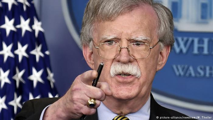 John Bolton in Moscow for tough talks on nuclear treaty