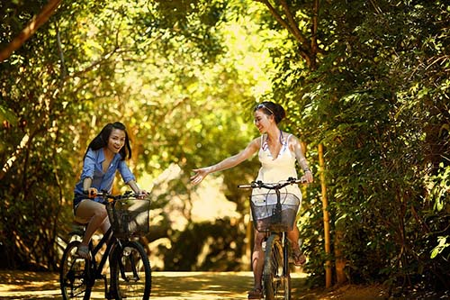 Cycling, walking in nature may improve mental health