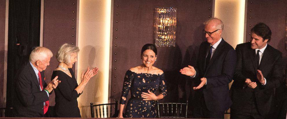 Julia Louis-Dreyfus gets a top award for comedy
