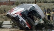 19 killed, over 40 injured in Pakistan bus collision