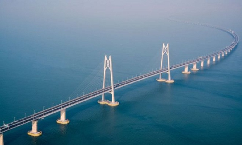 World's longest sea crossing: Hong Kong-Zhuhai bridge opens