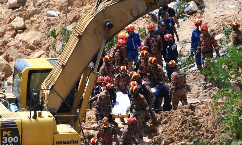 Five Bangladeshis killed in Malaysia landslide