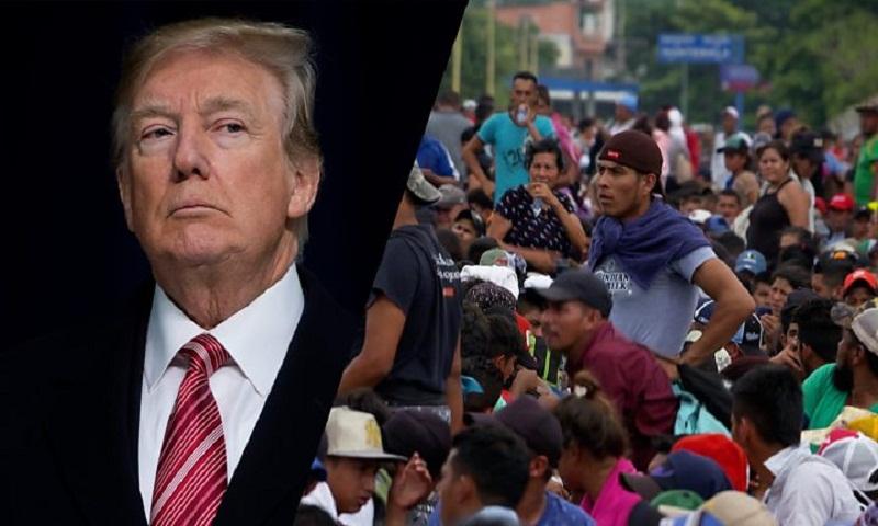 Trump vows to cut aid over migrant caravan