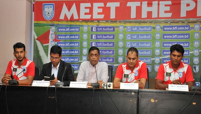 Bangladesh U-15 booters to fly Nepal Tuesday
