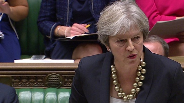 Theresa May says 95% of Brexit deal is done
