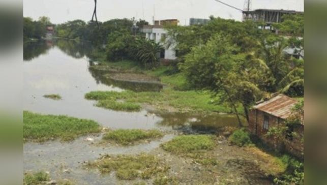 Pollution, grabbling put three Khulna rivers in peril
