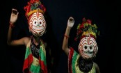 Nepal's masked dancers mark the end of monsoon
