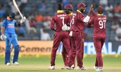 West Indies beat India by 43 runs in 3rd ODI