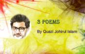 Quazi Johirul Islam comes up with 3 new poems