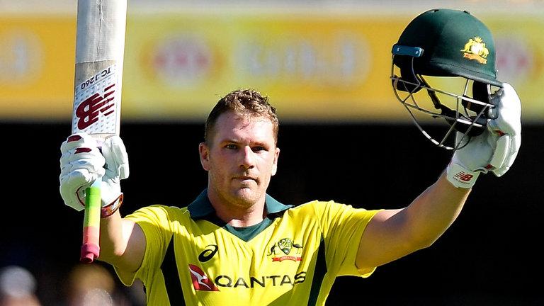 Finch named Australia's new ODI skipper