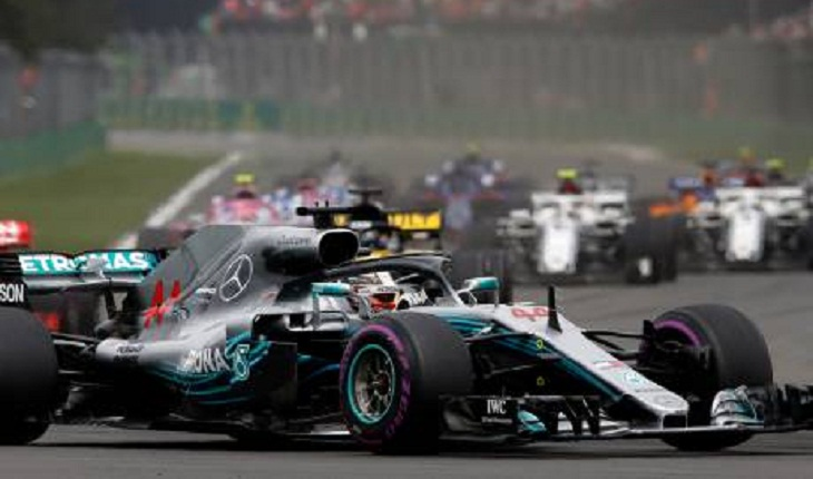 Hamilton wins fifth Formula One world title