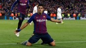 Suarez hat-trick gives Barcelona 5-1 victory in El Clasico