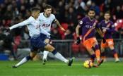 City win pitch battle as Mahrez sinks Spurs