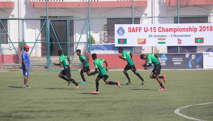 SAFF U-15: Bangladesh play India in semifinal Thursday