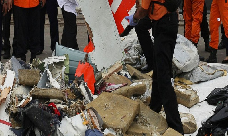 Indonesian officials identify possible plane crash site