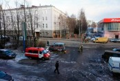 Man killed in Russian security service blast
