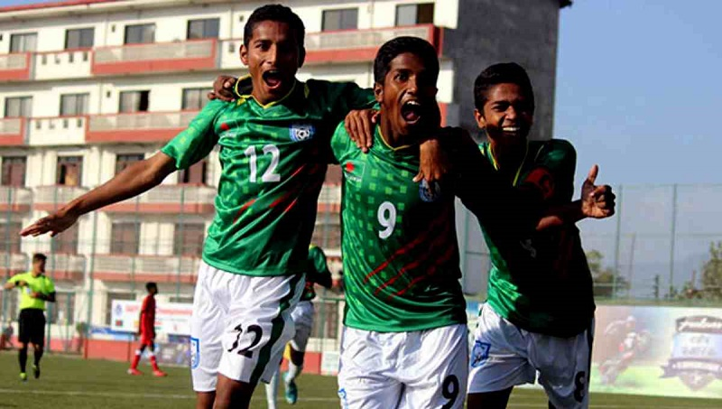 Bangladesh reach SAFF U-15 final beating India