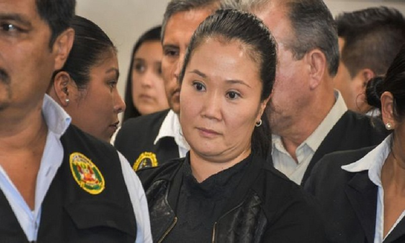 Peru's Keiko Fujimori jailed until bribery case trial
