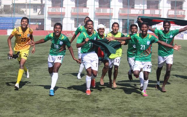 SAFF U-15 Championship : Bangladesh emerge unbeaten champions