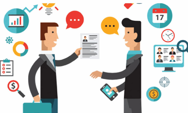 Employment through e-recruitment
