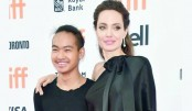 Jolie takes son Maddox on a University Tour  in South Korea