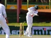 Nazmul falls, Bangladesh 143/9 against Zimbabwe