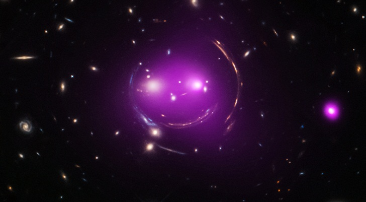 NASA's Hubble Telescope finds smiling face in space