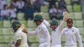 Taijul takes five, Bangladesh need 321 to win