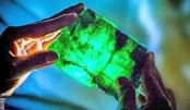1.1-kg and 5,655-carat  emerald unearthed in Zambia