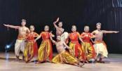 Dance soiree held at Chhayanaut Auditorium