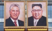 North Korea's Kim Jong-un gets 'first official portrait'