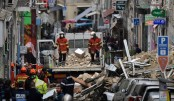 Two buildings collapse in France, rescuers search for victims
