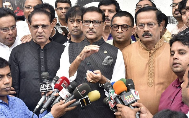 PM assures Oikya Front of holding fair, credible election: Quader