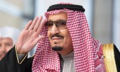 King tours Saudi as Khashoggi crisis rages abroad