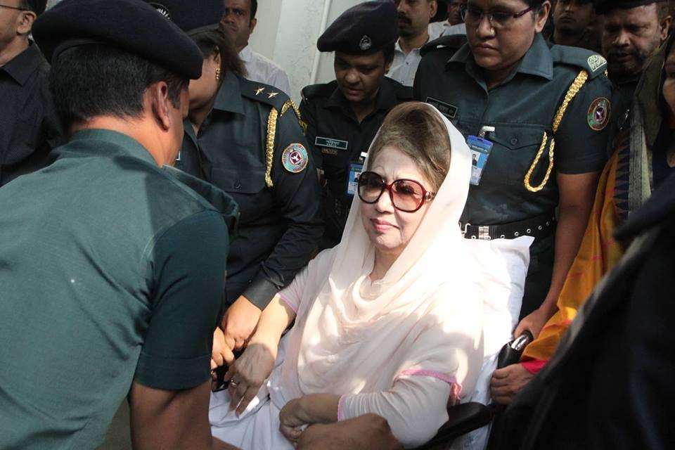 Khaleda Zia shifted back to jail in Niko graft case