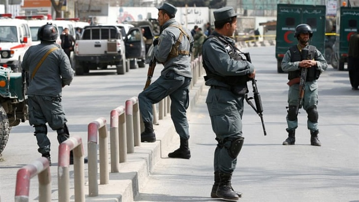 Afghan officials: Taliban attacks kill 13 policemen
