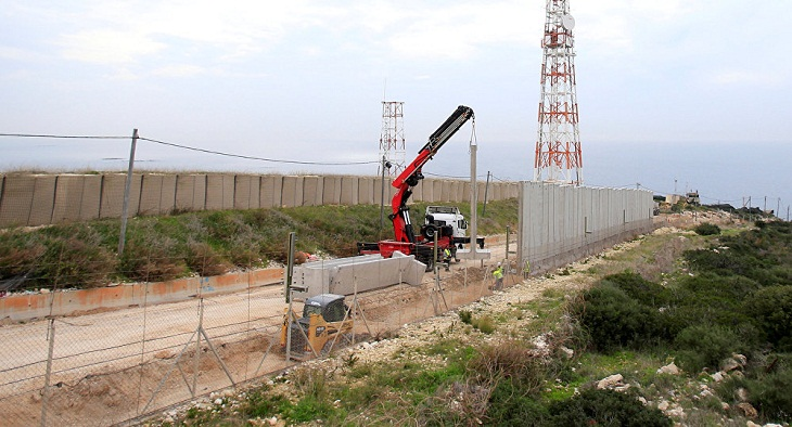 Israel installs monitoring devices on borders with Lebanon