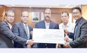 Amann donates Tk 6 lakh to labour welfare fund