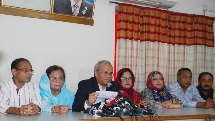 Poll schedule declared swiftly at the behest of government: BNP