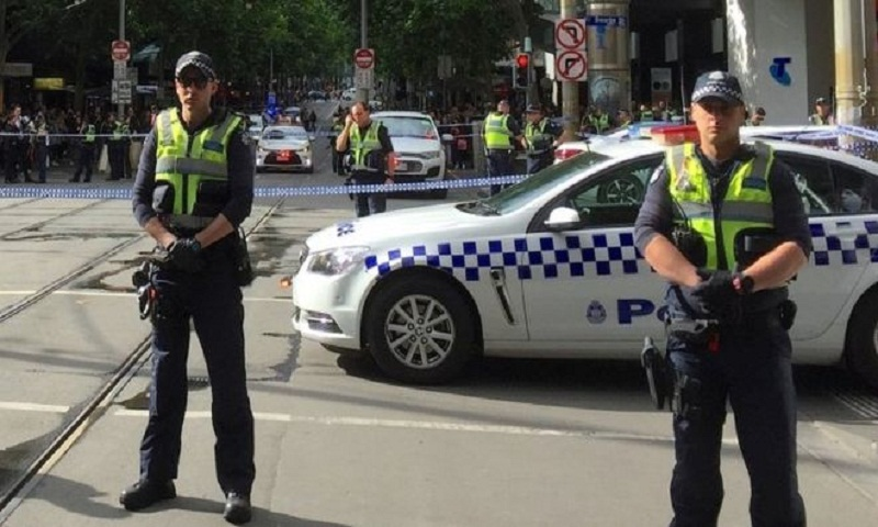 Melbourne attack: Man arrested after fire and stabbings