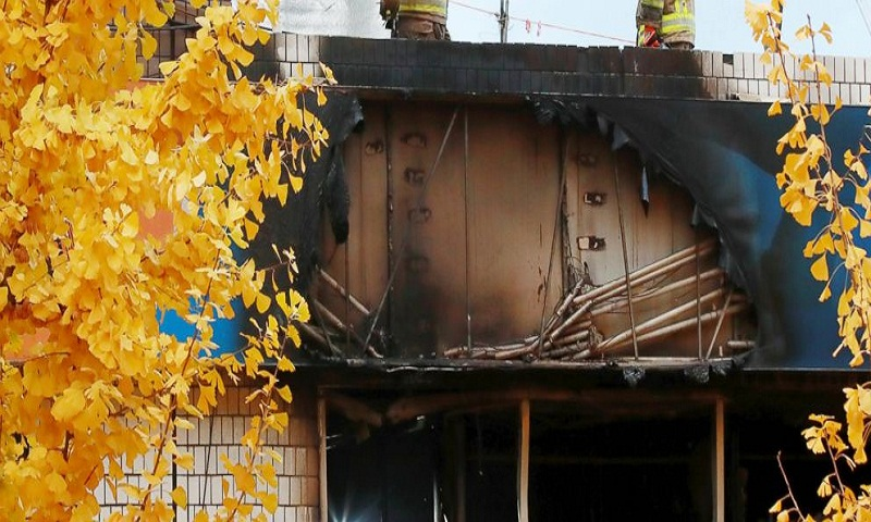 Fire kills at least 7 at dormitory-style housing in South Korea
