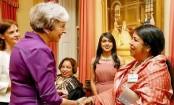 Speaker Shirin Sharmin calls on British PM Theresa May
