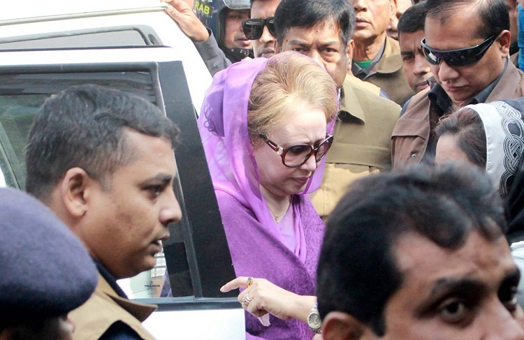 Writ petition filed seeking further hospitalisation of Khaleda