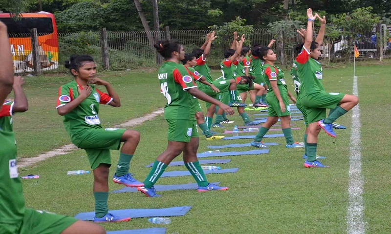 Olympics Qualifiers: Bangladesh Women booters face India today