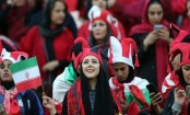 Iran women attend Asian Champions League football final