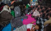 Migrant caravan spends night in central Mexican city