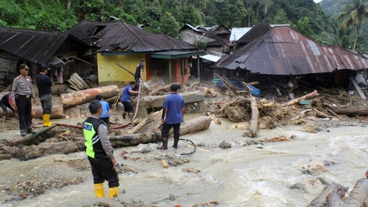 3 killed as landslides hit central Indonesia