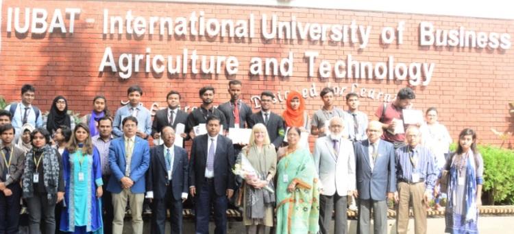 IUBAT organises prize awarding ceremony of Book Reading Competitions