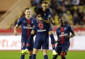 PSG routs Monaco 4-0 to win 13th straight league game