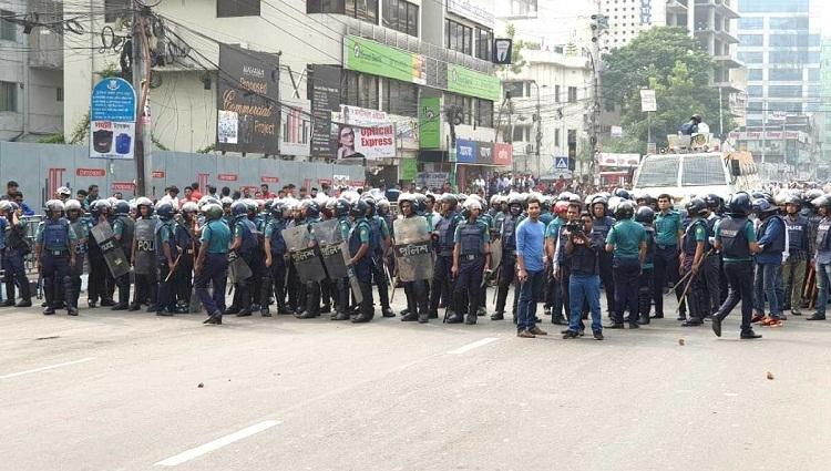 BNP blames police for Nayapaltan clash